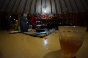 Yurt life..
